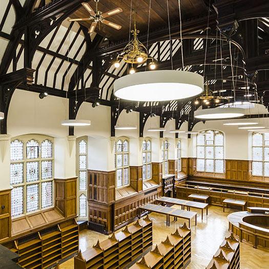 Period furniture for Methodist College, Belfast